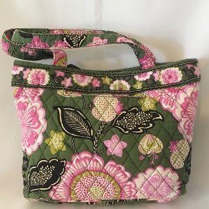 Vera Bradley Olivia Pink Handbag 11x8x3 Small